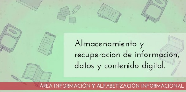Training of teachers in digital competences: Information literacy. Storage and retrieval of information data and digital content: basic, intermediate, advanced level