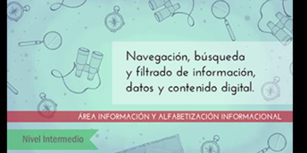 FDCD. Información y Alfabetización informacional. Navegación, búsqueda y filtrado de información, datos y contenido digital (nivel intermedio) (3ª ed)