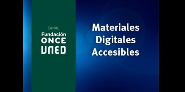 Materiales digitales accesibles (3ed)
