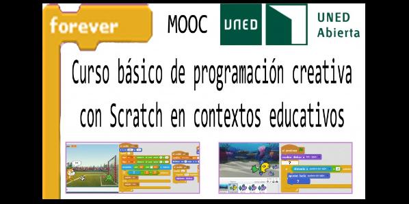 Curso básico de programación creativa con Scratch en contextos educativos
