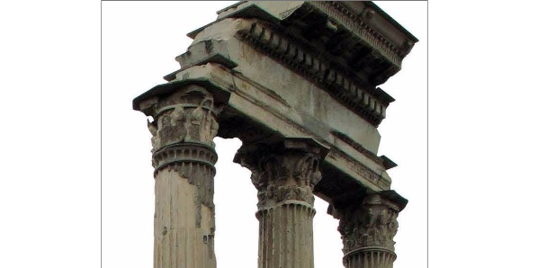 Ancient topography, relief and technical analysis of ancient monuments