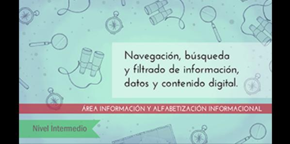 FDCD. Información y Alfabetización informacional. Navegación, búsqueda y filtrado de información, datos y contenido digital (Nivel INTERMEDIO ) (2020)