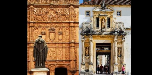 El patrimonio ibérico clasificado por la UNESCO (II). Estudios de caso: Coimbra y Salamanca